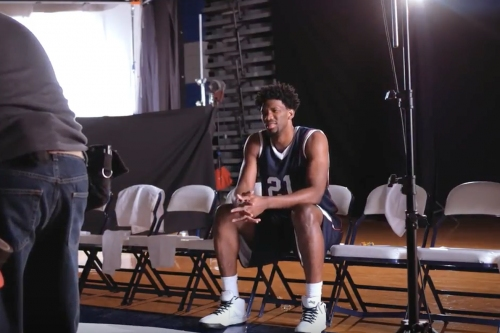 Exclusive: Behind The Scenes of Joel Embiid's Jolly Ranchers Commercial