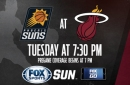Phoenix Suns at Miami Heat game preview