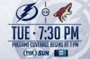 Arizona Coyotes at Tampa Bay Lightning game preview