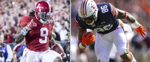 AL.com All-Access: Who leads Alabama in rushing in 2017? Who leads Auburn in receiving?