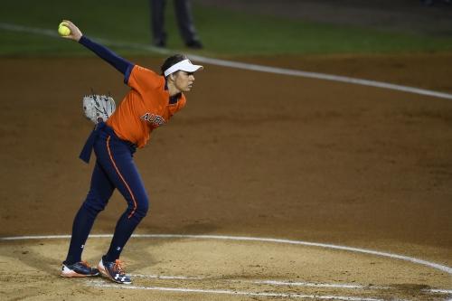 Auburn softball remains No. 4 in coaches poll
