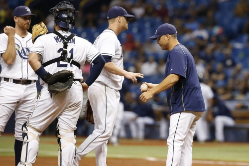 Alex Cobb knows he's going to be traded