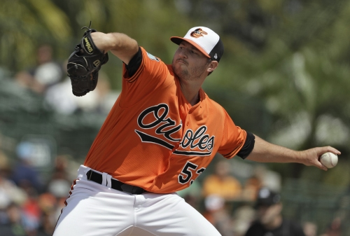 Orioles' Zach Britton hopes to duplicate great 2016 season The Associated Press