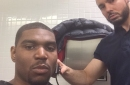Never forget Andrew Bynum getting a haircut during halftime of an NBA game