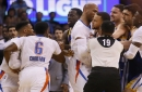 Stephen Curry gets in shoving match with Oklahoma City Thunder, buries buzzer beating 3-pointer