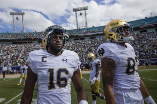Notre Dame alum Torii Hunter Jr. has no regrets about choosing baseball over football