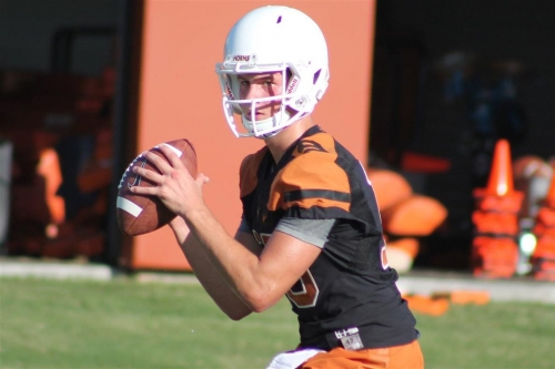 Texas QB Matthew Merrick giving up football to focus on academics