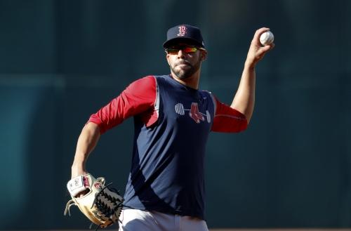 David Price, Boston Red Sox lefty, still has not begun a throwing program