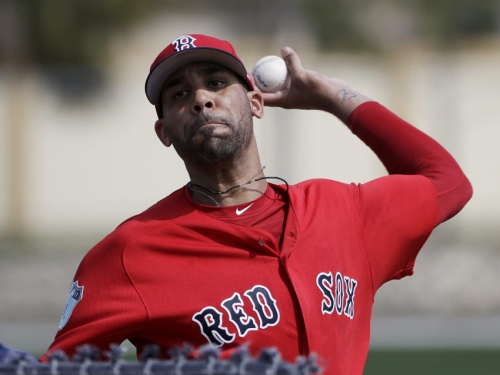 David Price improving but not ready for 'full-blown throwing program'