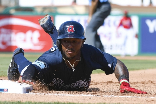 Braves reassign Ozzie Albies to minor league camp