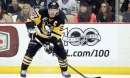 Sidney Crosby cheap shots Buffalo player in the groin with his hockey stick