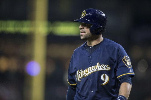 Manny Pina homers again as Milwaukee Brewers top Dodgers, 5-4