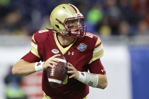6 Eagles Work Out at Boston College's Pro Day