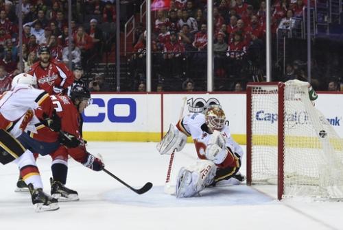 Ovechkin shines as Caps snap Elliott's streak, beat Flames The Associated Press