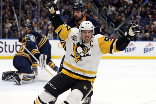 Penguins clinch playoff berth with 3-1 win in Buffalo