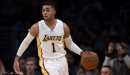 Los Angeles Lakers Encouraged By D'Angelo Russell's play At Shooting Guard