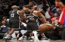 Brook Lopez hits buzzer-beater to lift Nets 98-96 over Pistons