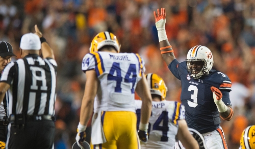 No hype required: Auburn DE Marlon Davidson staying humble in spring