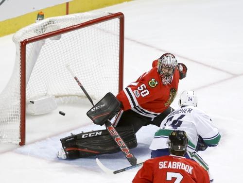 Daniel Sedin scores in OT to lift Canucks over Blackhawks The Associated Press