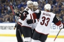 Coyotes damage Lightning's playoff hopes with 3rd-period rally