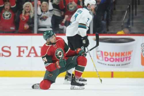 The tide breaks as Wild snap 5-game losing streak against Sharks