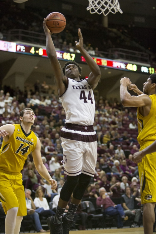 Robert Williams' return one of many reasons for optimism for Aggie men