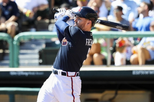 Braves check in at No. 5 in FanGraphs' First Base Power Rankings