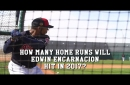 How many home runs do Indians fans think Edwin Encarnacion will hit in 2017? (video)
