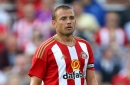 Lee Cattermole back on the pitch as he takes another step on the road to recovery