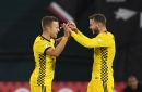 The new formation remains a work in progress for Columbus Crew SC