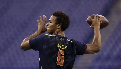 Inside QB DeShone Kizer's unique challenge at Notre Dame's Pro Day