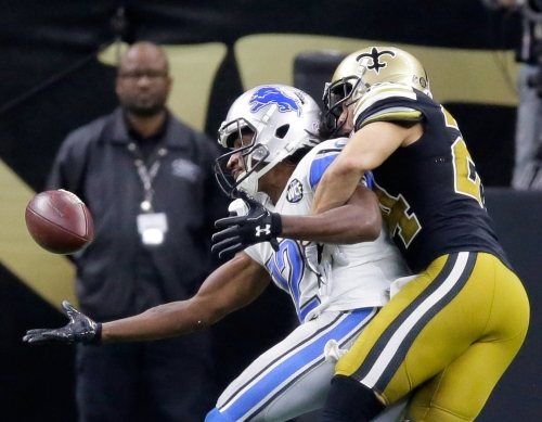 Sterling Moore on re-signing with Saints: 'I wanted to go back to New Orleans'
