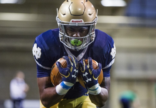Notebook: Notre Dame's early enrollees spring forward with strong impressions