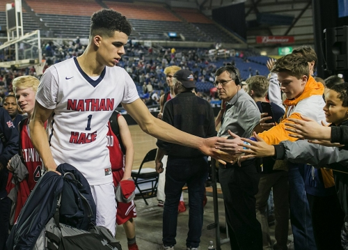 Nathan Hale's Michael Porter Jr. will ask for release from Washington