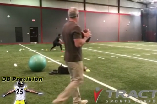 Brett Favre came out of retirement to throw laser passes to Robert Alford