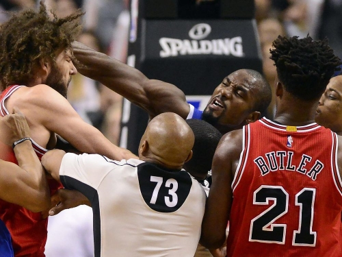 Serge Ibaka and P.J. Tucker have brought fight to the Toronto Raptors — both figuratively and literally