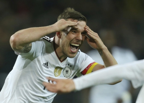 Podolski gets perfect send-off with winning goal for Germany The Associated Press