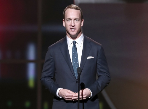 """Peyton Manning: """"I have no interest in the political world."""""""