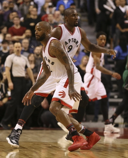 With Tucker and Ibaka, Casey finally has Raptors team that's willing to be physical
