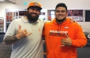 Kyle Peko says he is 'blessed' to play with cousin Domata Peko