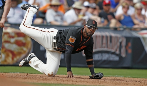 Giants notes: Sore shoulder sidelines Eduardo Nuñez again, a Tommy John alternative for Will Smith, etc.
