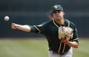 Triggs' strong outing helps his chance to start for A's The Associated Press