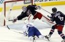 Nylander, Komarov lead Maple Leafs past Blue Jackets 5-3 (Mar 22, 2017)