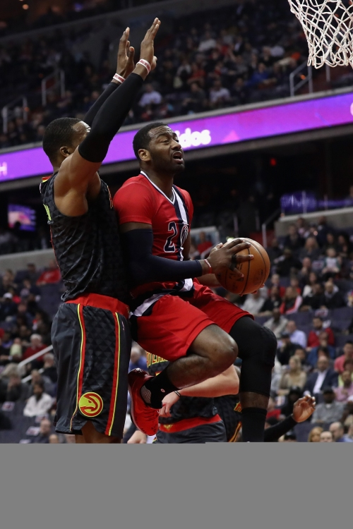 Beal, Wall lead Wizards to 104-100 win over Hawks The Associated Press