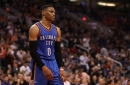 Westbrook's 35th triple double powers Thunder win
