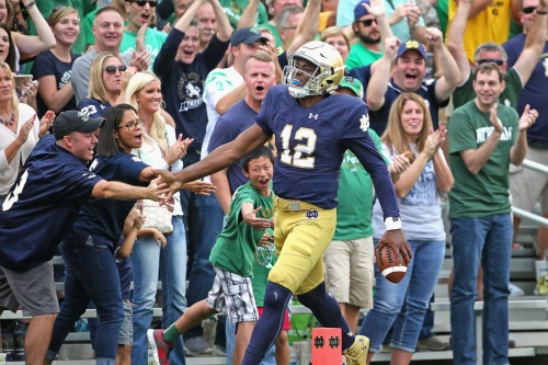 Notre Dame Gets Back To Spring Football, And Brian Kelly Doesn't Care About George Whitfield