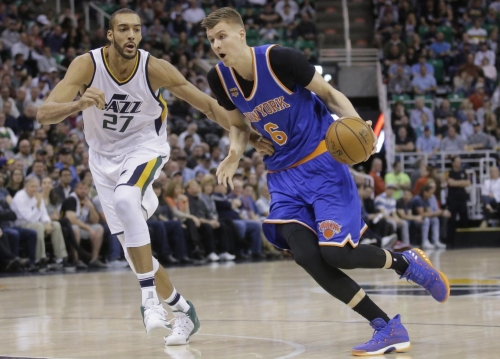 Knicks ruin Hornacek's night in Utah with loss to Jazz
