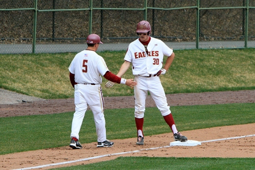 Eagles Hang on to Defeat Northeastern - The Heights