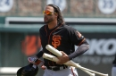 Michael Morse is hurt, and the Giants' bench is wide open