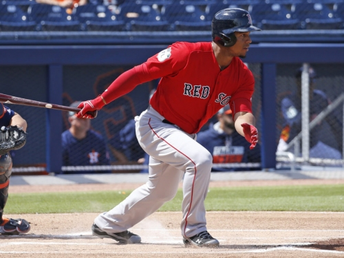 Projecting the Red Sox' Opening Day roster